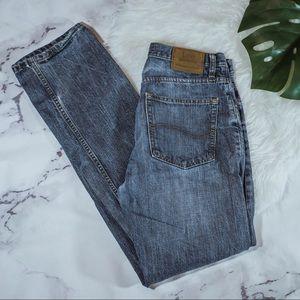 Lee straight leg denim jeans
